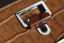 Jeanne Toussaint & Louis Cartier Collection / Jeanne Toussaint and Louis Cartier, the new Fine Leather Goods collections from Cartier / by Cartier