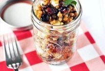 Food: Mason Jar Meals / by Amy Fennell
