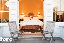 Beautiful Bedrooms / Pillows, throws, color, comforters, bedside tables, lamps, headboards: they're all right here! / by athome Magazine