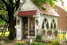 Tiny Cottages / by Think Vintage Shop