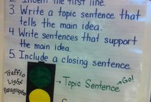 Anchor Charts--Writing / by Deana Ford