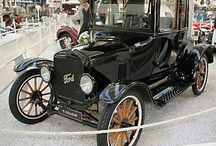 Antique cars and trucks / by Tami Schield