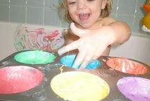 Messy play ideas / by Caroline Everett