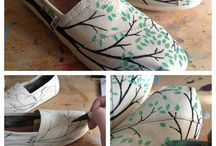 Painted toms(: / by Lindsey Whittenburg
