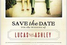 INVITATIONS & SAVE THE DATE / by Cristina Le Jour du Oui