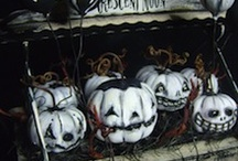 Halloween Decoration Inspiration / by Tracy Parsons Anema