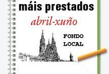 Máis prestados FONDO LOCAL Primavera 2013 / Os máis prestados de FONDO LOCAL na Biblioteca Ánxel Casal. ABRIL-XUÑO 2013  / by Biblioteca Anxel Casal