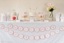 Pink and Gray Baby Shower / by Pass The Scissors