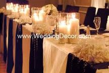 Head Tables / by The Fez Banquet & Wedding Center
