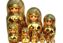 Nesting dolls. / Russian & any other kind. / by Faye Mcarthur