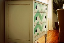 painted dressers and side table (s) / by meg elliott