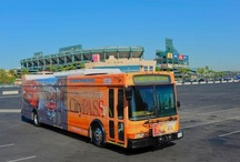 Getting Around OC / Whether renting a car, taking the Amtrak or Metro trains, OCTA bus or Anaheim Resort Transportation (ART) trolley, there are many ways to explore all 34 Orange County cities.
