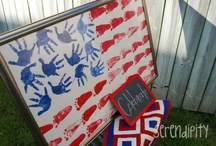 July 4th Crafts & Recipes / by The Cents'Able Shoppin