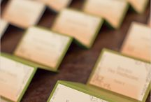 Wedding Escort and Place Cards / by invitesbyjen