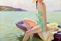 Art, sharing some wonderful paintings / Art that I like / by Roger Carrier