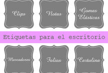 Fonts & Printables / by Dina
