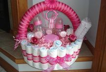 Towel/Diaper Cakes, Wreaths Etc. / by Christine Carrier