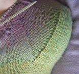 knit: socks: heels + toes / by MayMay