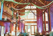 Barn Venues - Interior Decor / Ideas for decorating barn wedding venues. / by IntimateWeddings.com