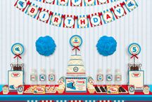 Party: Jameson's 2nd Thomas the Train Birthday / by LW LH