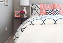 Spare Bedroom - Edgewater / Styling inspiration for Alysia's house! / by Leesa Weesa