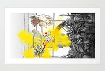 My art prints! / by Sandpaperdaisy Art