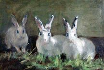 LOVE * For My Love of Rabbits / by Billie Bianchi