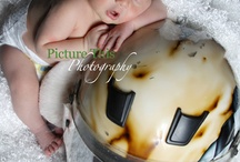 newborn pic ideas / by Nicole Ducouer