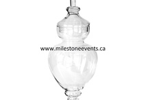 Milestone Events  Inventory - GLASSWARE / by Milestone Events
