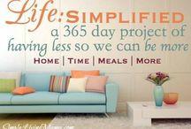 Simplify / by Emilie Olson