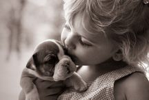 Babies and puppy's  Close to my heart  / by Jan Tschantz