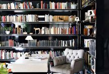 Libraries / by Maria Elena; Holguin Interiors, LLC