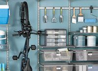 garage diy ideas / by Wade Pool
