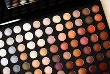 Makeup: Eyeshadows, Eyebrows, Eyeliners and Mascaras. / by ★Yara★