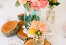 Nicole + Reese's Wedding Flowers / by Elizabeth ~ Boos Florist + White Pear