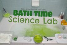 Bath time experiments / by Kathy Freas