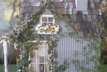 miniature houses / by Becky Etsy ShabbiestOfAll