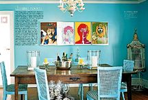 Turquoise / by Dora Ficher Art
