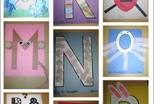 Letters Shapes and Numbers Teaching Patterns / All Free Patterns / by Linda McRea