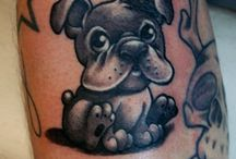 Dogs / Some of the best tattoos about man's best friend. Portraits, traditional, japanese, etc. / by Tattoos