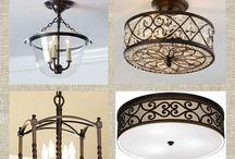 new house - lighting ideas / by Jenn Driver