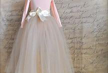 My BridzMd, Bride, FlrGrl  Dresses / My Bridesmaid and Flower Girl Dresses / by Elisabeth E