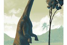 Dinosaurs! / by Melanie Flanigan