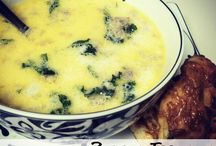 Soup and salad / Soup and salad / by News Anchor to Homemaker
