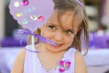 Girls 2nd and 4th birthday party ideas  / by Kim Watson