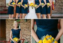 Navy & Yellow Wedding / by The American Wedding