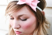 DIY :: Head bands & all fabric flowers / by Emanuela Jalba