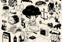 Illustration / by Johana Blu