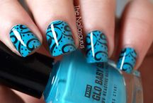 Cool Nail Art <3 / by Brittney Meggs