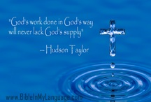 Hudson Taylor / Missionary   / by BIBLE WORLD